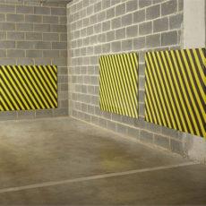 Pare-choc mural pour garage